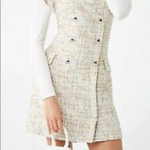 BNWT Forever 21 tweed dress size small